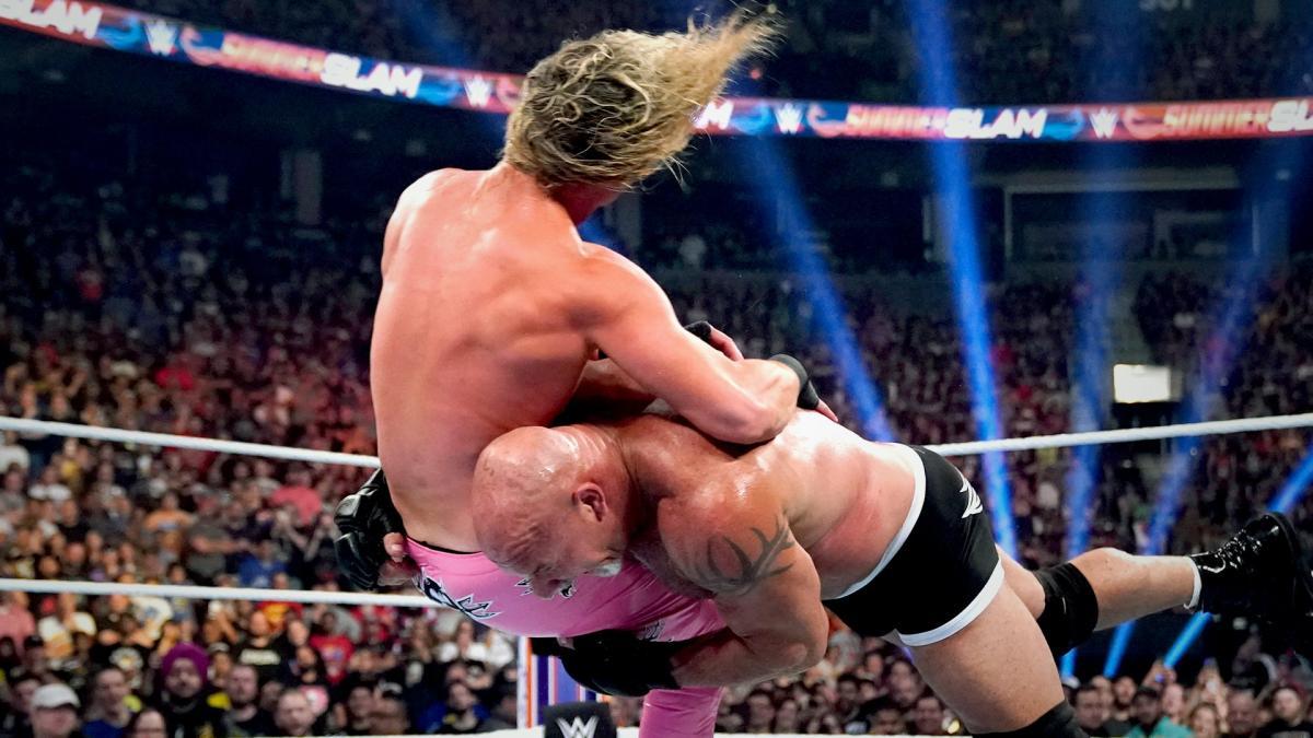 Goldberg Wrestler Tot